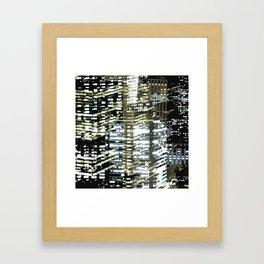 Night City 2 Framed Art Print