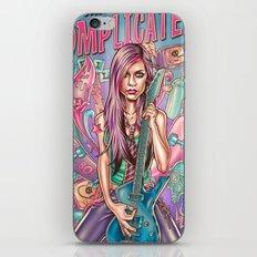 Complicated - Avril Lavigne iPhone & iPod Skin