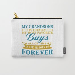 Grandsons Forever Carry-All Pouch