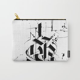 CALLIGRAPHY N°6 ZV Carry-All Pouch