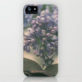 Book of LOVE - Lilacs Syringa iPhone Case