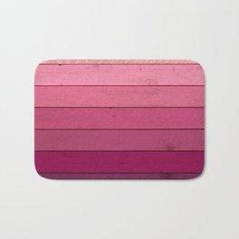 Purple Wood Bath Mat