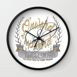 The Raven Cycle - Excelsior Wall Clock