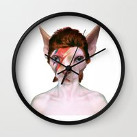 aladdin Wall Clocks featuring Aladdin Sphynx by sansfur