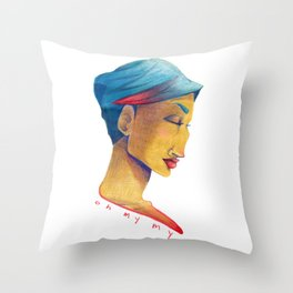 Oh My My  Throw Pillow