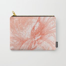 Splatter in Guava Carry-All Pouch
