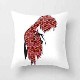 Just be Patient! Throw Pillow