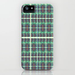 plaidish iPhone Case