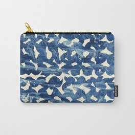 Indigo love Carry-All Pouch