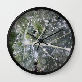 The First Frost Wall Clock