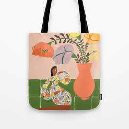 Tory´s flowers Tote Bag