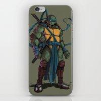 leonardo iPhone & iPod Skins featuring Leonardo by Teratophile
