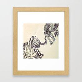 Elephünt Framed Art Print