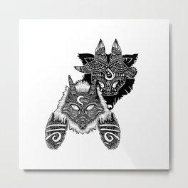 Kindred Metal Print