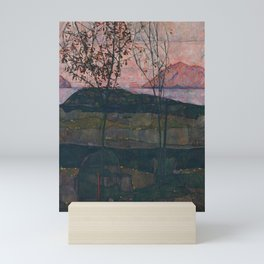 Egon Schiele - Setting Sun (1913) Mini Art Print