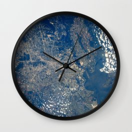 1241. Earth observations taken from orbiter Discovery during STS-91 mission Wall Clock