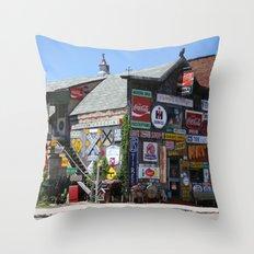 The Marathon Pub Throw Pillow
