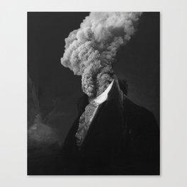 alternative reality - black Canvas Print