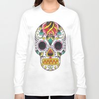 tatoo Long Sleeve T-shirts featuring Tatoo ART 4  by The Greedy Fox