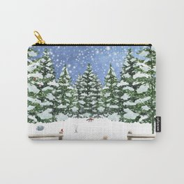 A Winter's Night Carry-All Pouch