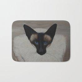 The Siamese Cat Bath Mat