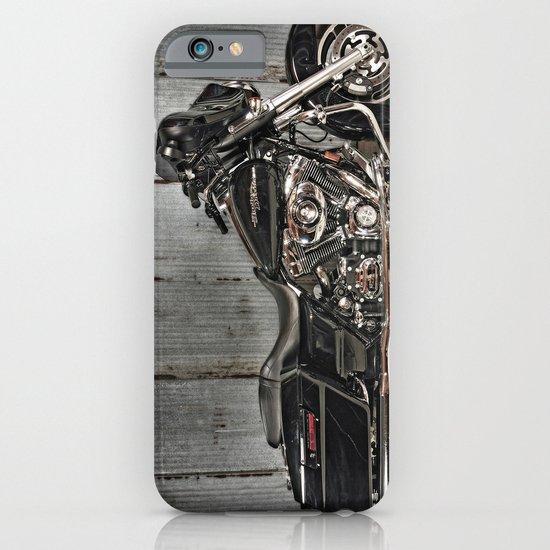 Black Harley Street Glide iPhone & iPod Case