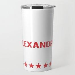 Alexandria Ocasio-Cortez  2024 Travel Mug