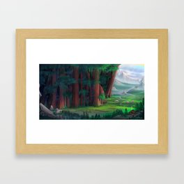 The Ancient Forest Framed Art Print