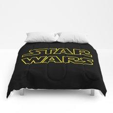 Star Logo Wars Comforters