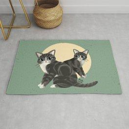 Lovely kitties Rug