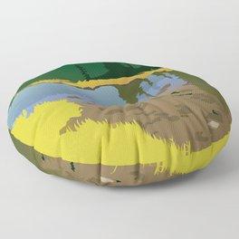 Junction Lake Floor Pillow