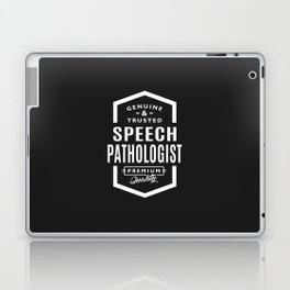 Gift for Speech Pathologist Laptop & iPad Skin