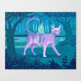 Paseo Canvas Print