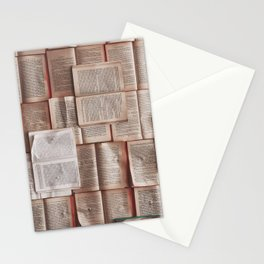 Books, Reading & Read Stationery Cards