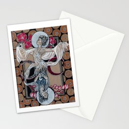 Birth and Growth Stationery Cards