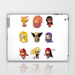 Chibi Heroines Set 3 Laptop & iPad Skin