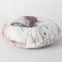 Mermaid II Floor Pillow