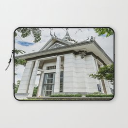 Memorial Stupa at the Killing Fields Laptop Sleeve