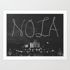 new orleans lousiana  Art Print