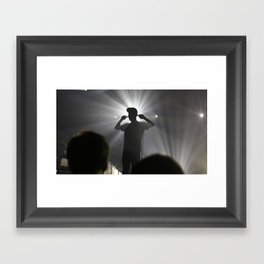 Concert in Moscow Framed Art Print