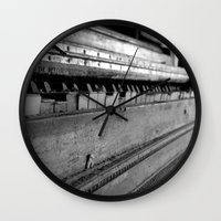 piano Wall Clocks featuring Piano by Susigrafie