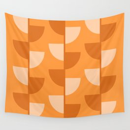 Orange Slices In The Summer - Fruit Series Wall Tapestry
