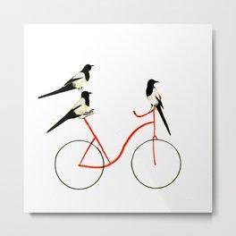 Reason THREE for using bike. Metal Print