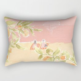 Sunrise Lovers Rectangular Pillow