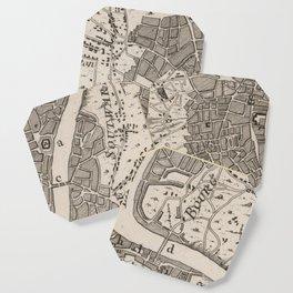 Vintage Map of London England (1764) Coaster