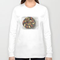 snake Long Sleeve T-shirts featuring Snake by Michelle Behar