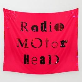 RadioMotorHead Wall Tapestry