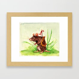 The Rodent Guard Framed Art Print