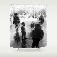 street art Shower Curtains featuring Street by Hipsterdirtbag