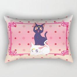 Luna e Artemis  Rectangular Pillow
